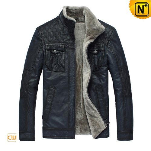 Cwmalls Commodity's men's cloth - CWMALLS leather - Black - leather
