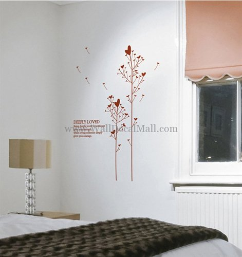 WallDecalMall WallDecalMall's stationery - Tree Wall Decals Heart Tree With Deeply Loved W - http://www.walldecalmall.com/heart-tree-with-deeply-loved-wall-sticker.html