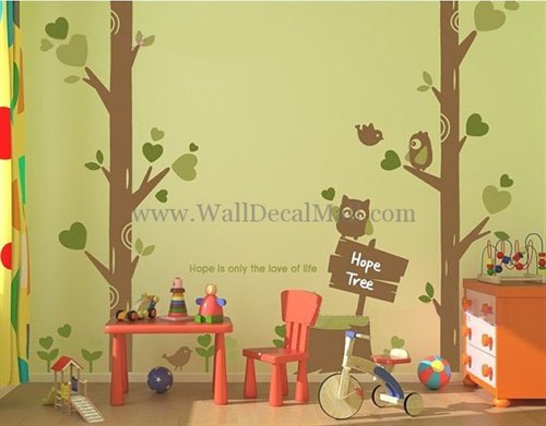 WallDecalMall WallDecalMall's stationery - Tree Wall Decals Hope Is Only The Love Of Life  - http://www.walldecalmall.com/hope-is-only-the-love-of-life-tree-wall-decals.html