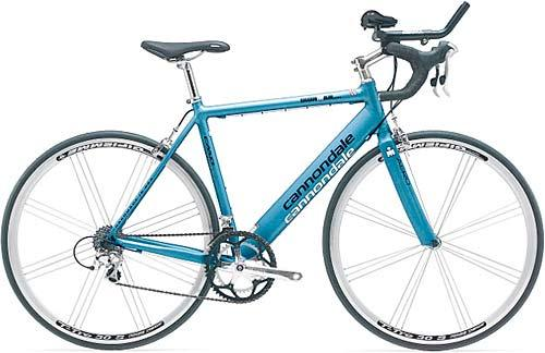 Mahyar Maleki's bicycle - Cannondale Ironman 600 - Teal
