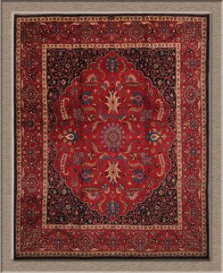 Hans Saghaei's other antiques - 1940 - Persian Mashad Rug