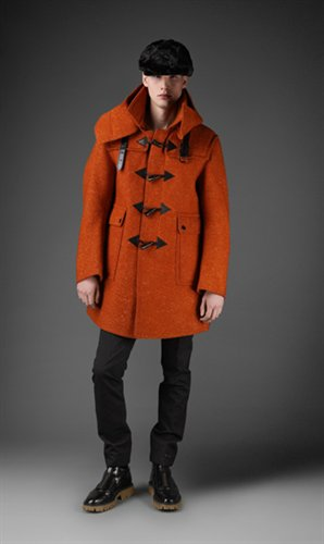 Mario Loperas's men's cloth - Burberry  Prorsum  - Orange