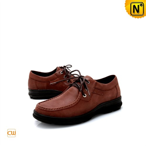 Cwmalls Commodity's men's shoes - CWMALLS leather - Maroon - leather