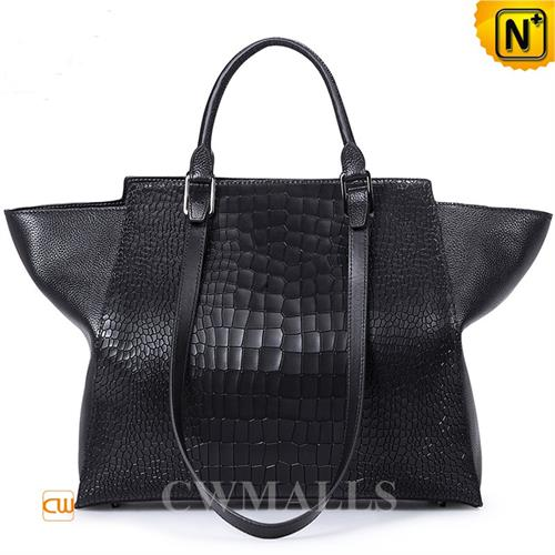 Cwmalls Commodity's bag - cwmalls Womens Black Totes - black - calfskin leather
