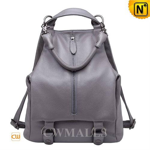 Cwmalls Commodity's bag - CWMALLS Leather Travel Backpack - full grain cowhide leather
