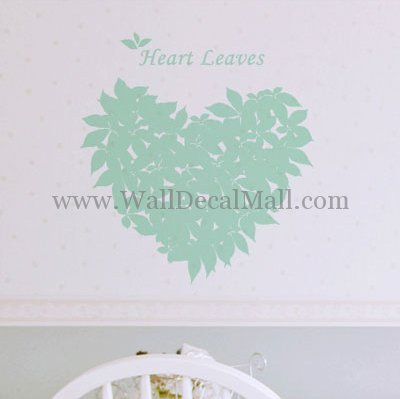 WallDecalMall WallDecalMall's stationery - Tree Wall Decals Heart Leaves Tree Wall Decals - http://www.walldecalmall.com/heart-leaves-tree-wall-decals.html