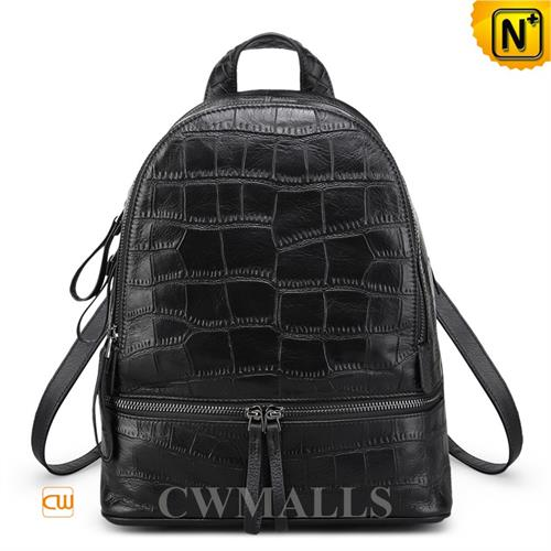 Cwmalls Commodity's bag - CWMALLS Leather Travel Backpacks - full grain cowhide leather