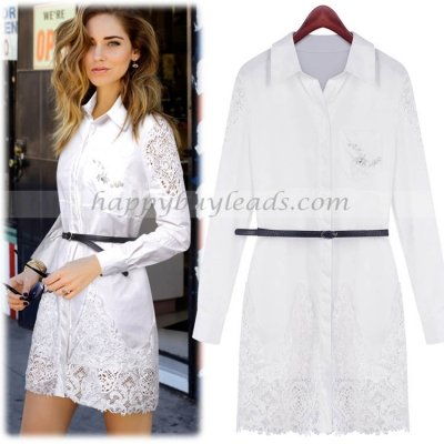 Daisy Eu's girls cloth - happybuyleads.com FZHB-QNR5151 - White - Cotton